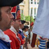 Recreación histórica de batallas en el centro de la ciudad de Murcia.