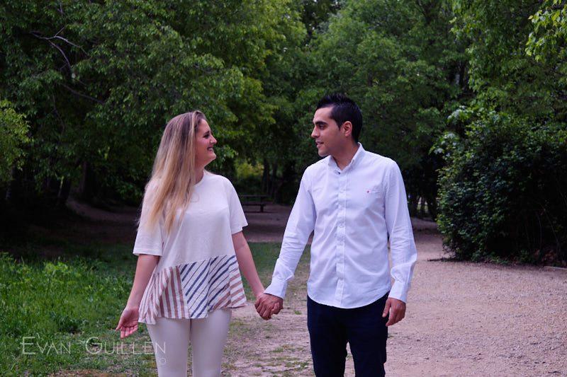 Pre boda en Fuentes del Marqués, Caravaca, Murcia.