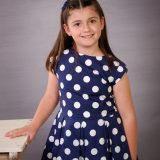 Candidata infantil a reina de las fiestas Monteagudo 2019